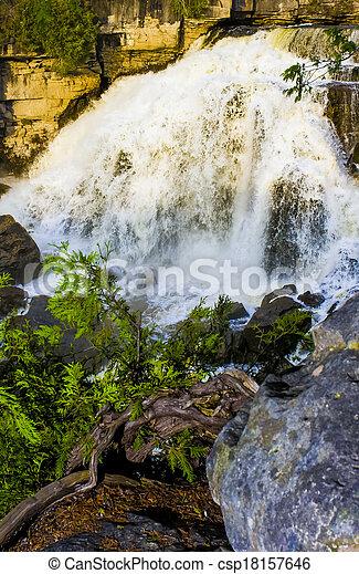 Waterfalls - csp18157646