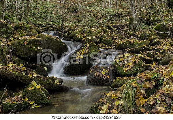 waterfalls - csp24394625