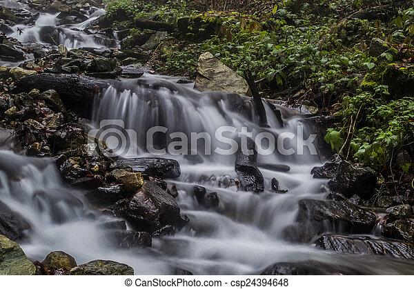 waterfalls - csp24394648