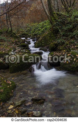 waterfalls - csp24394636