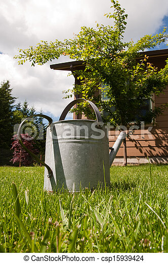 Watering can - csp15939424