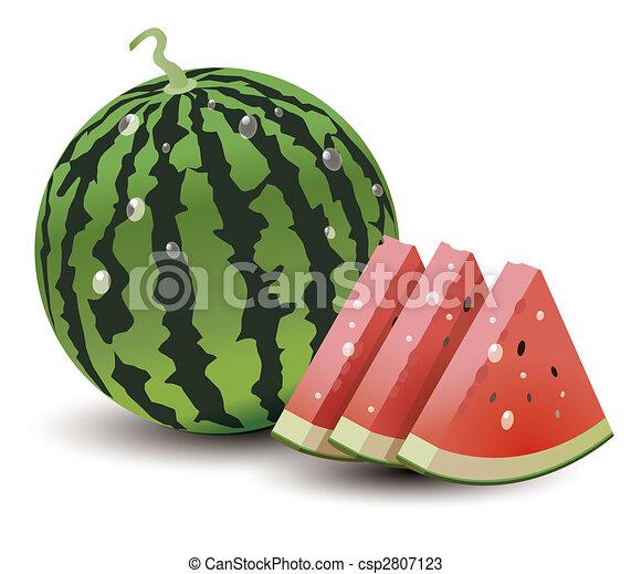 watermelon - csp2807123