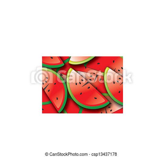 watermelon - csp13437178