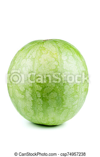 Watermelon isolated on white background - csp74957238