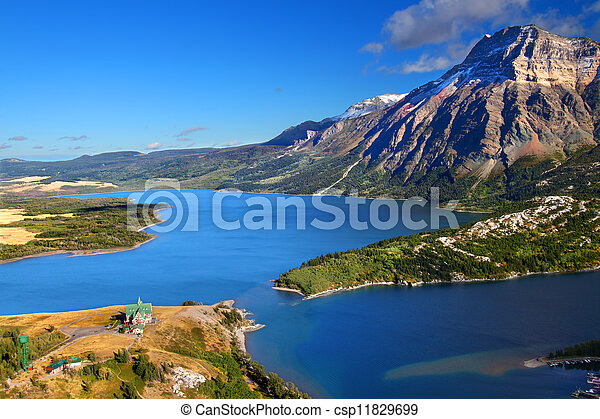 Waterton Lakes National Park - csp11829699