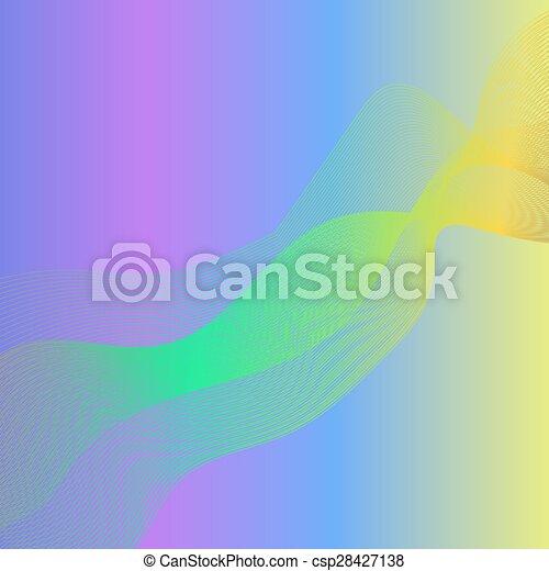 Wave Background - csp28427138