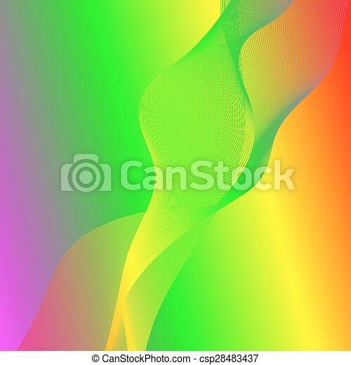Wave Background - csp28483437