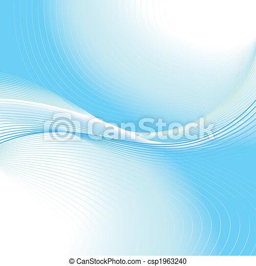 wavelines, fundo - csp1963240