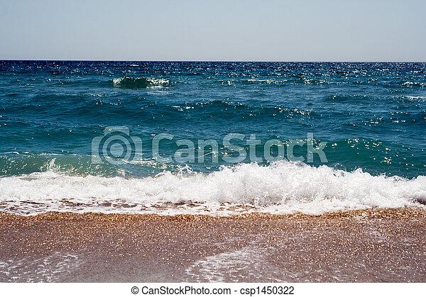 Waves at coast of the Black sea - csp1450322