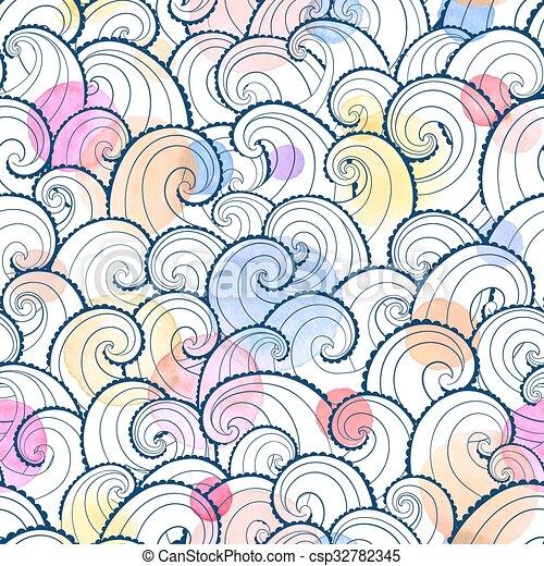 Waves background - csp32782345