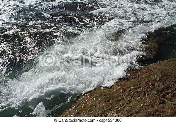 Waves crashing - csp1534006