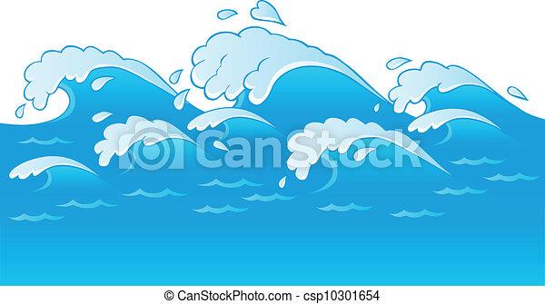 Waves theme image 3 - csp10301654