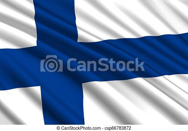 waving flag background - csp66783872