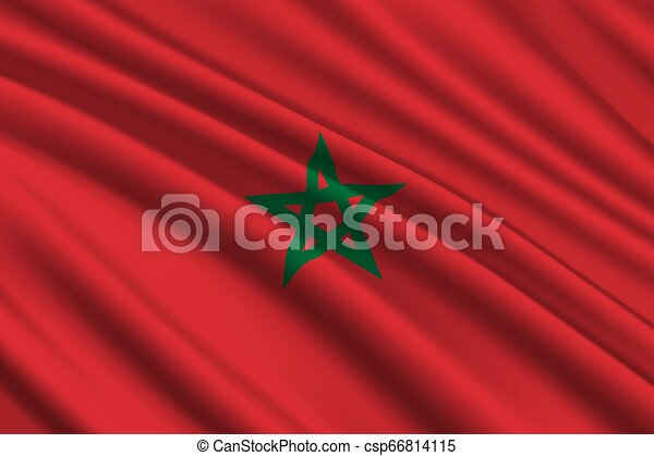 waving flag background - csp66814115