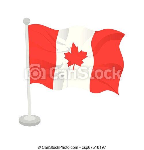 Waving flag of Canada - csp67518197