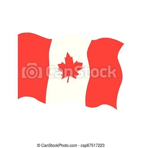 Waving flag of Canada - csp67517223