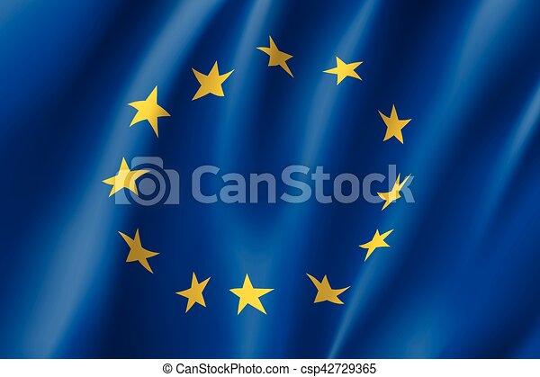 Waving flag of - csp42729365