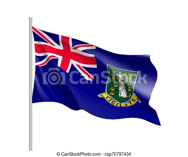 Waving flag of - csp70797434