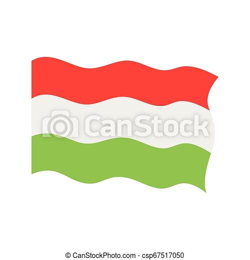 Waving flag of Hungary - csp67517050