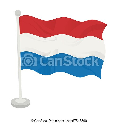 Waving flag of Netherlands - csp67517860