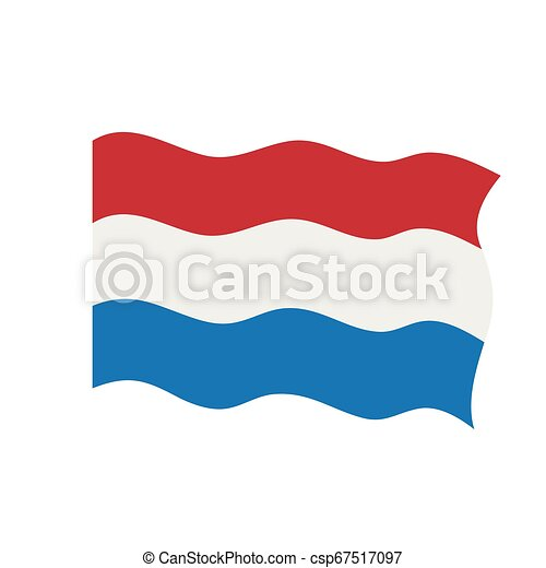 Waving flag of Netherlands - csp67517097