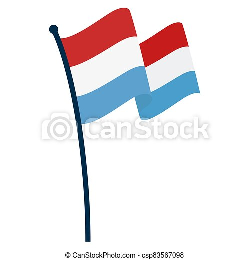 Waving flag of Netherlands - csp83567098