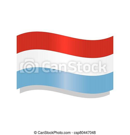 Waving flag of Netherlands - csp80447048