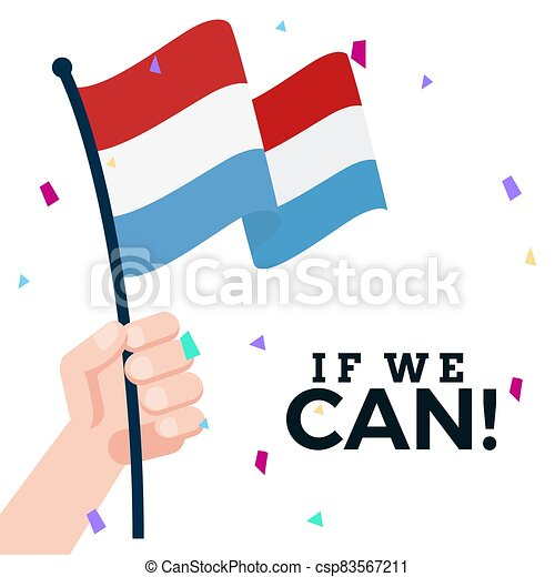 Waving flag of Netherlands - csp83567211
