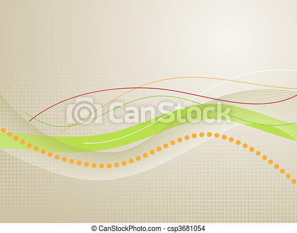Drawing Lines With Photo Cs : Wavy lines abstract background symbolic of research drawing