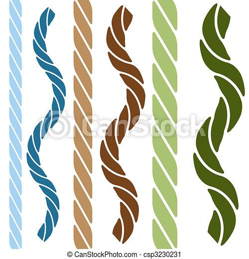 Wavy Straight Rope Set - csp3230231