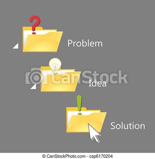 Way from problem to solution. - csp6170204