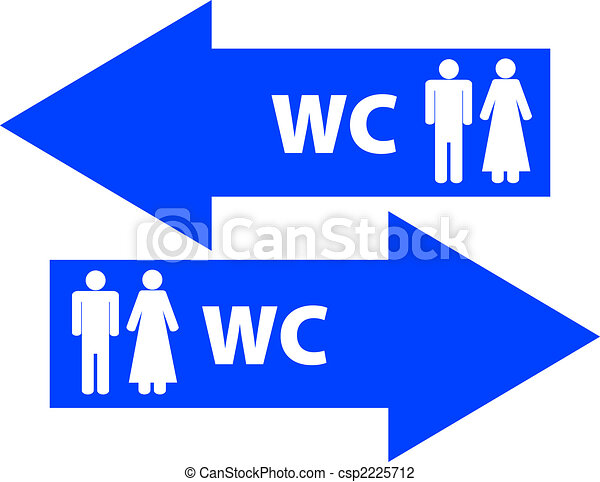 Wc Toilet Signs Clip Art