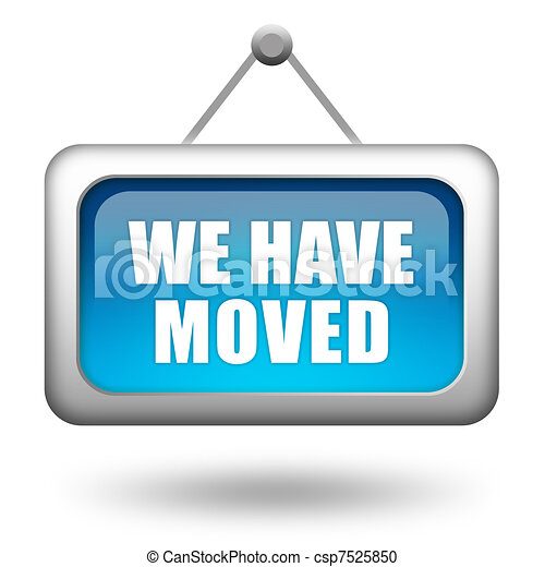 We have moved - csp7525850