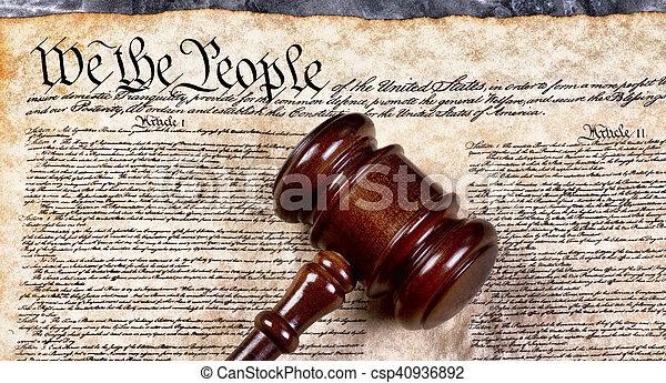 We the People. - csp40936892