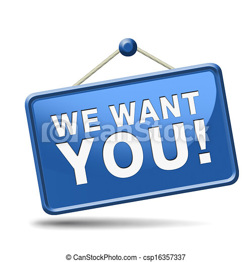 we want you button job vacancy help wanted search employees rh canstockphoto com help wanted clipart free