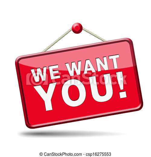 we want you - csp16275553