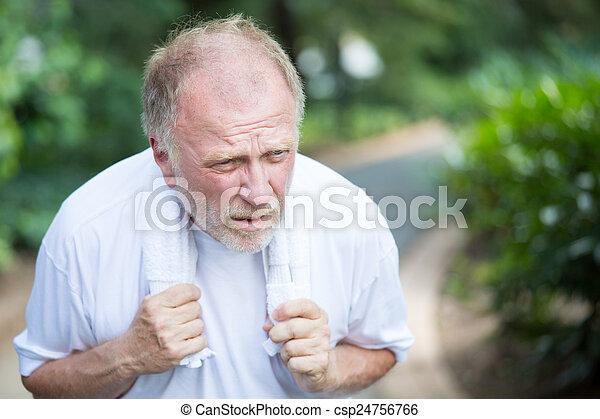 weak old man - csp24756766