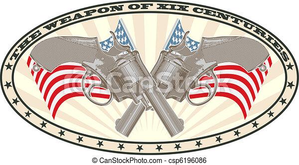 Weapon stamp - csp6196086