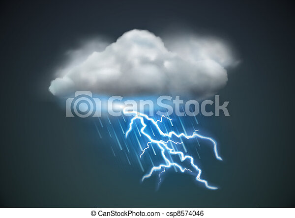 weather icon  - csp8574046