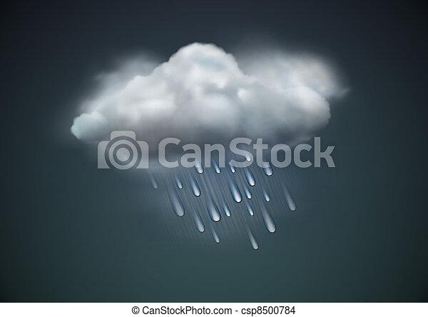 weather icon - csp8500784
