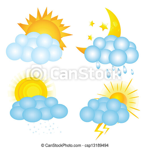 weather icons - csp13189494