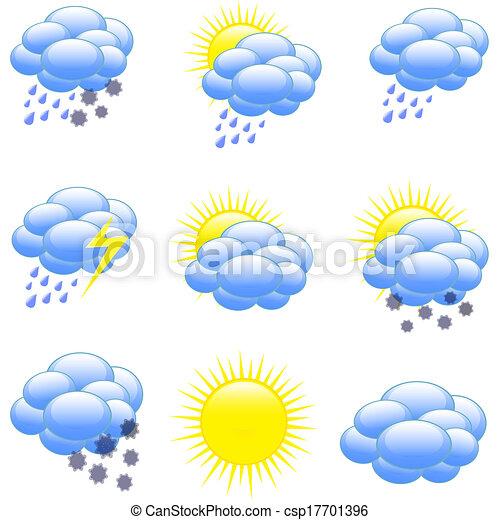 weather icons - csp17701396