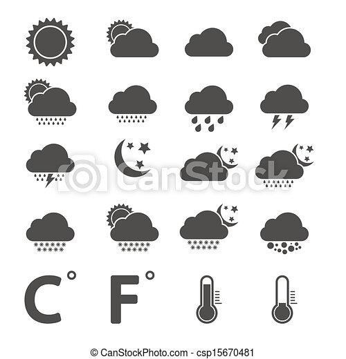 Weather Icons - csp15670481