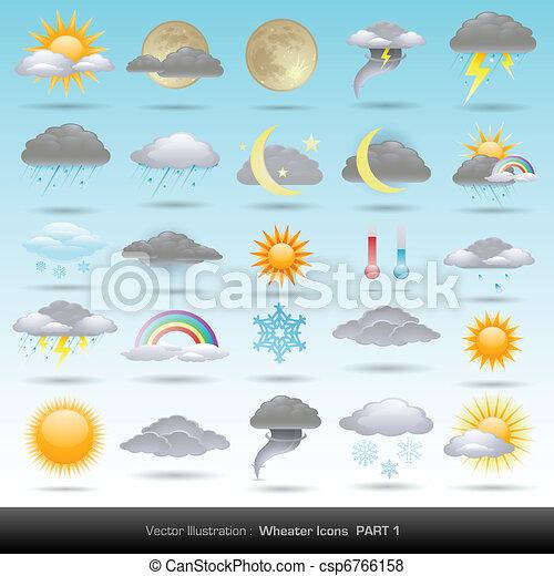 weather icons - csp6766158