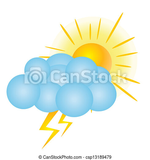weather icons - csp13189479
