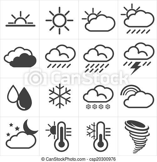 weather icons - csp20300976