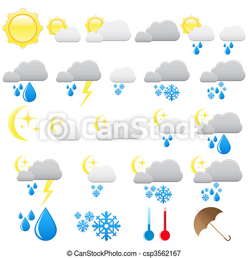 Weather icons - csp3562167