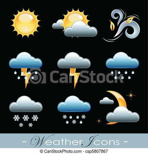 Weather Icons - csp5807867