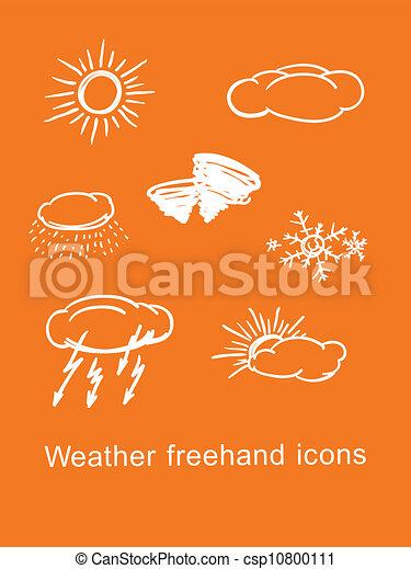weather icons - csp10800111