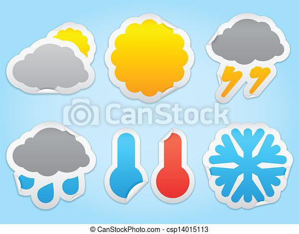 Weather icons. - csp14015113